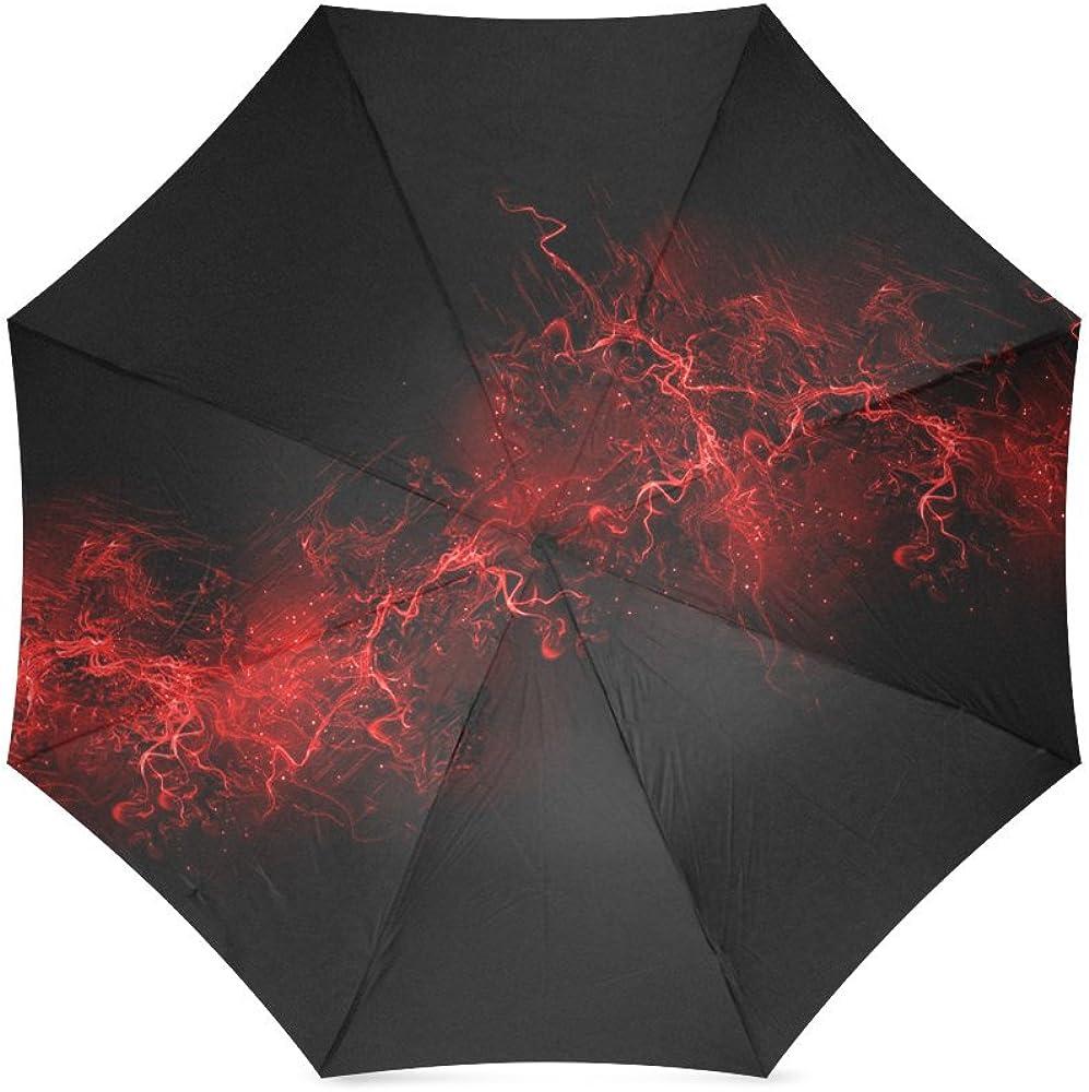 Umbrella Smoke Custom Umbrella Automatic Folding Umbrella Rainproof /& Windprrof