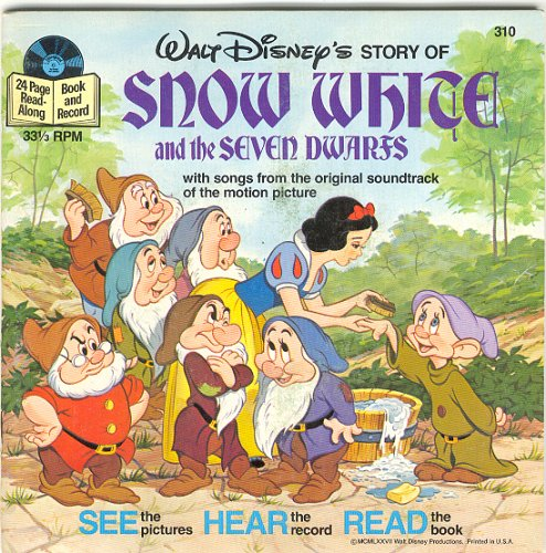 Snow White and the Seven Dwarfs (Read-Along Book and Record)