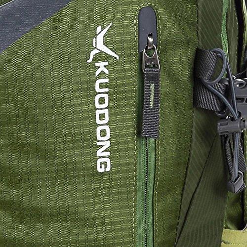BUSL deportes al aire libre del alpinismo del bolso de hombro masculinos impermeabilizan ir de excursión la bolsa de viaje a caballo de la mujer . b a