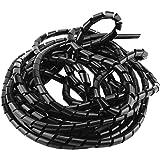 Organizador de cables de espiral para organizar cables de oficina en casa, 10 mm, 02
