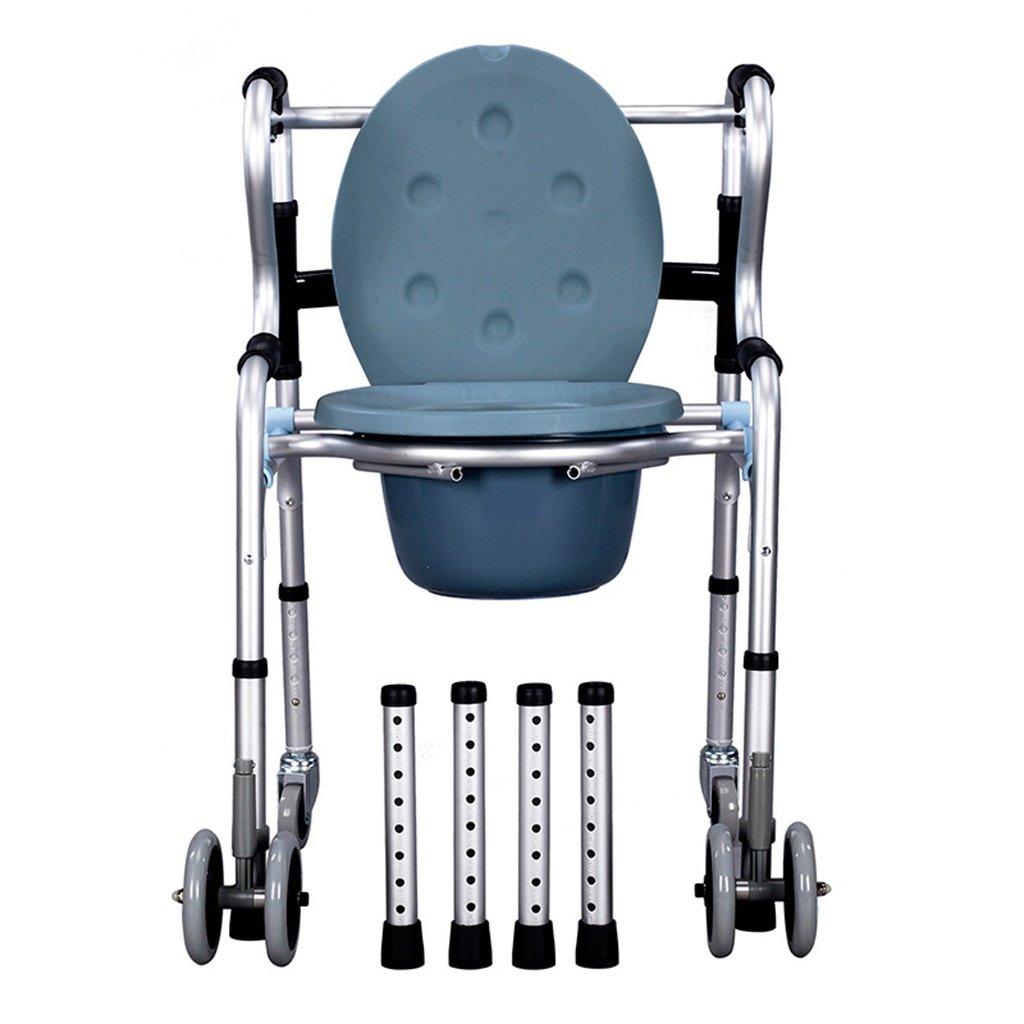 Amazon.com: Lxn Chair Bath Chair Toilet seat Walker Collapsible ...