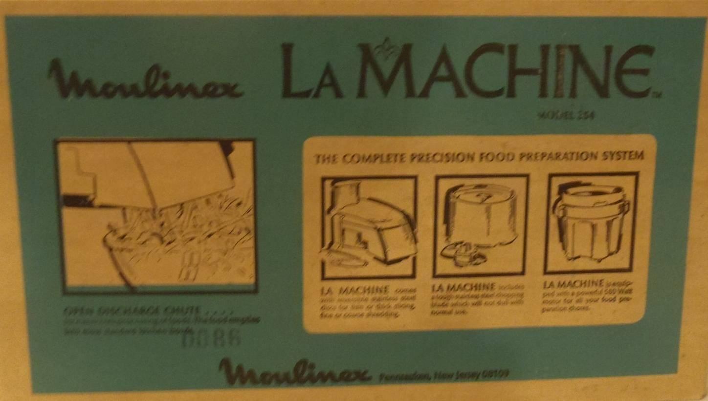 Amazon.com: Moulinex La Máquina Deluxe Modelo 354 Procesador ...
