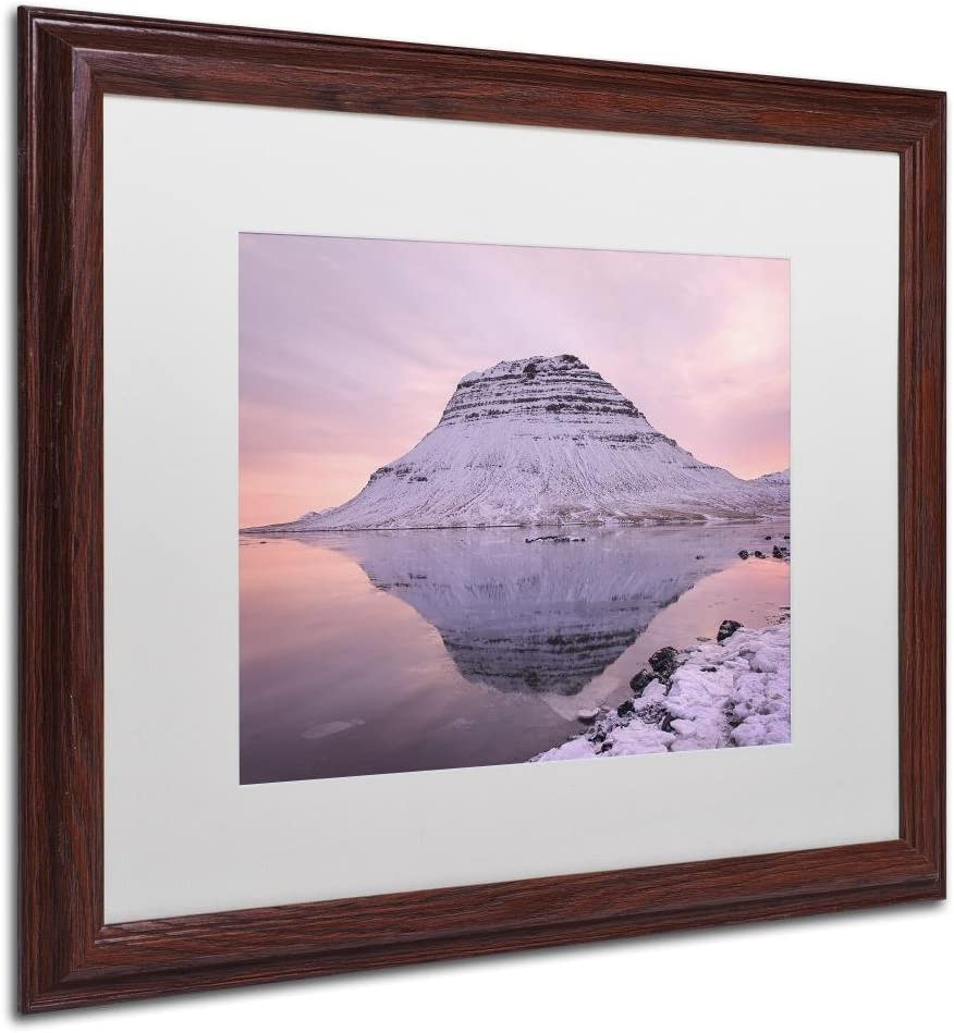 Pastel Canvas By Michael Blanchette Photography Artwork In White Matte With Wood Frame 16 X 20 Home Kitchen