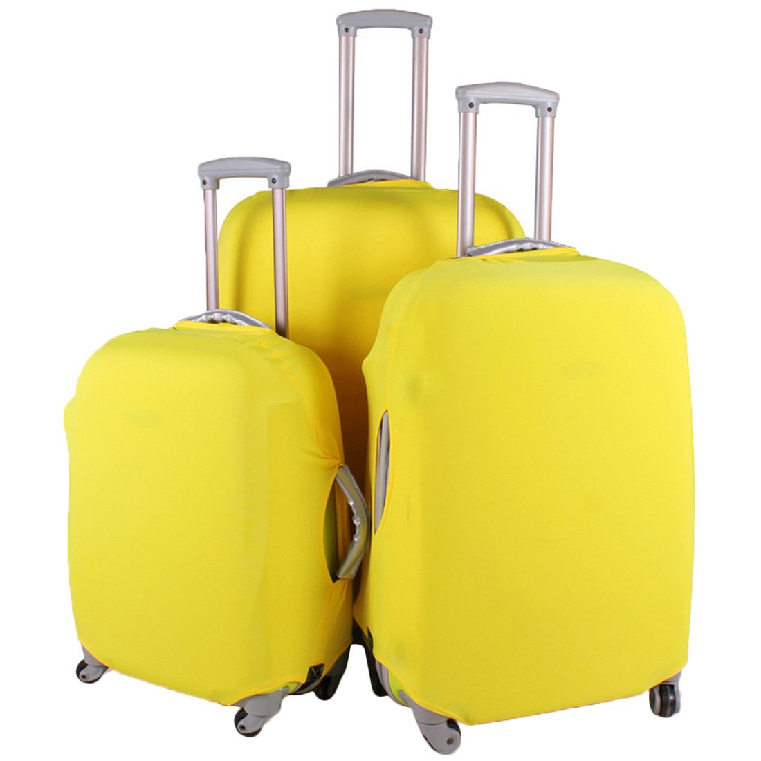 0b1290cb9160 kilofly Travel Suitcase Trolley Case Protective Cover 18-30 inch + Luggage  Tag