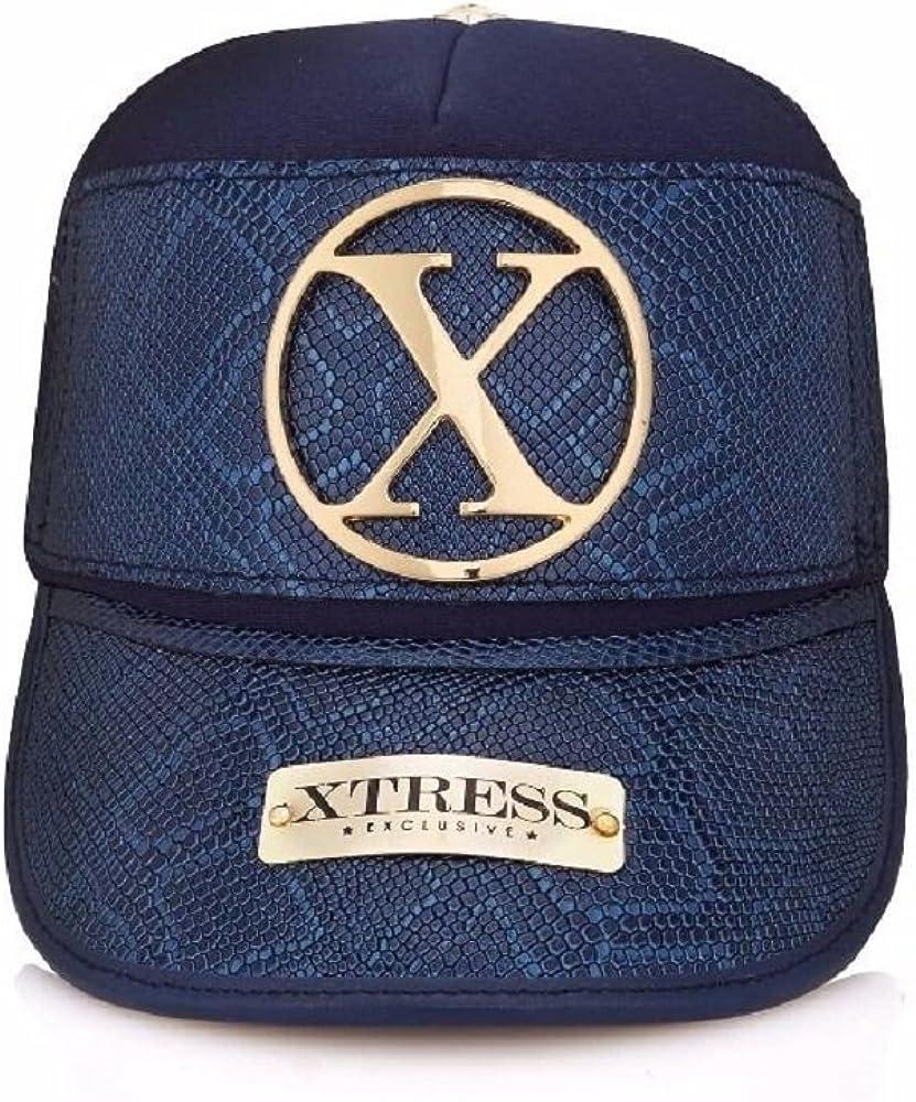Xtress Exclusive Gorra de diseño azul para hombre y mujer.: Amazon ...