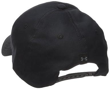 newest aa12e 11598 Amazon.com  Under Armour Men s Caliber Cap 2.0, Black Realtree Ap-Xtra, One  Size  Clothing