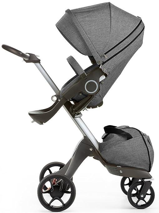 Stokke - Silla de paseo xplory v5 black melange negro: Amazon.es: Bebé