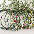 AWAYTR Lady Girl Fashion Bohemian Flower Crown Floral Garland Headbands