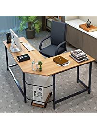 computer desk office. tribesigns modern lshaped desk corner computer pc latop study table workstation home office