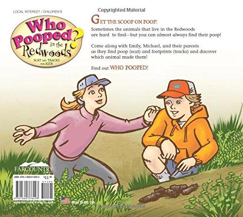 Who Pooped in the Redwoods? : Scat and Tracks for Kids (Who Pooped in the Park?) by Farcountry Press (Image #1)