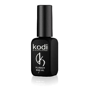 Amazon.com: Professional Rubber Base Gel By Kodi | Soak Off, Polish ...