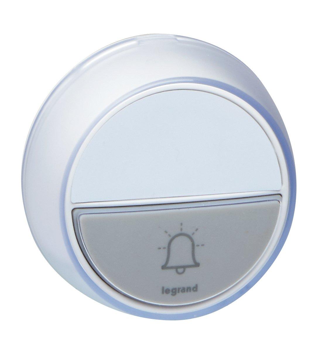 Legrand 094278 pulsador inalámbrico con LED para balizas de ...