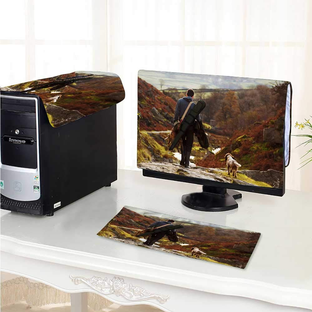 Philiphome フラットスクリーンプロテクター3点 素晴らしいアルファ 帯電防止ビニール/17インチ W17