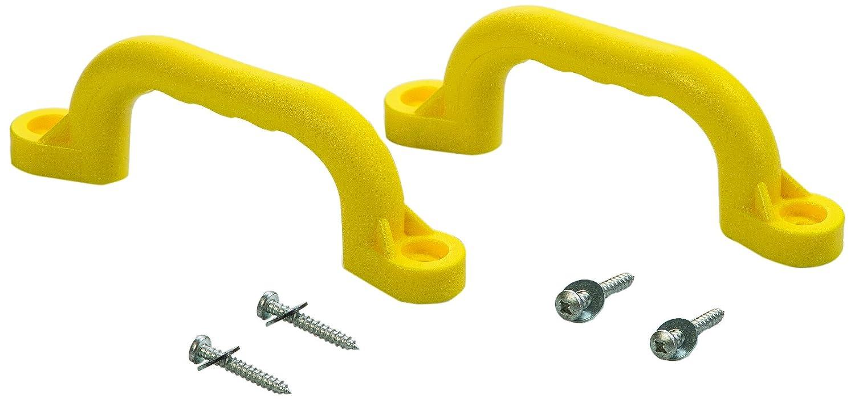 Playset Safety Handles (One Pair)- Yellow, One Size Creative Cedar Designs -- Dropship BP 007