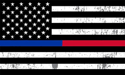 Amazon.com: 4 Pack Thin Blue Line and Red Line Lives Matter Flag ...