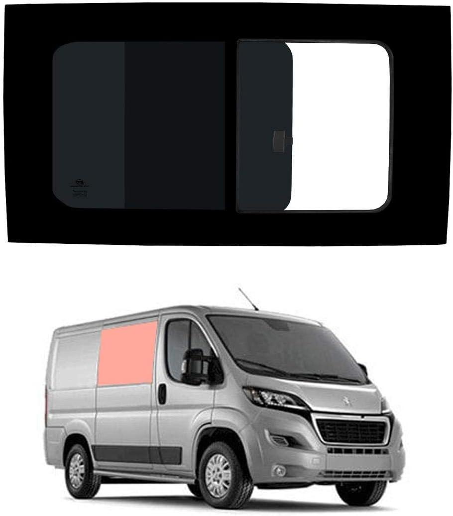 Mano derecha, tintado oscuro apertura ventana para Panel lateral OPP. Puerta Corredera Peugeot Boxer (2006 on) [L1H1]: Amazon.es: Coche y moto