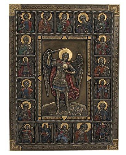 Saint Michael Archangel Iconic Religious Wall -