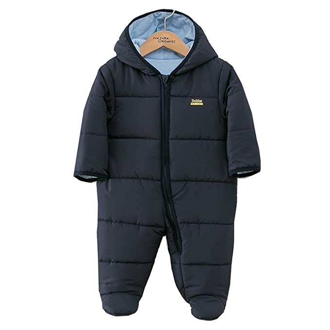 a2ce297cc713 Padding Snowsuit Baby Boy and Girl Bunting Hooded 100% Certified ...