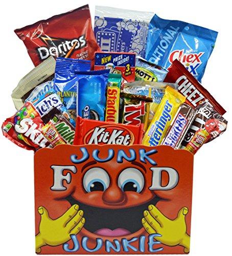 Junk Food Junkie Snack Food Gift Basket