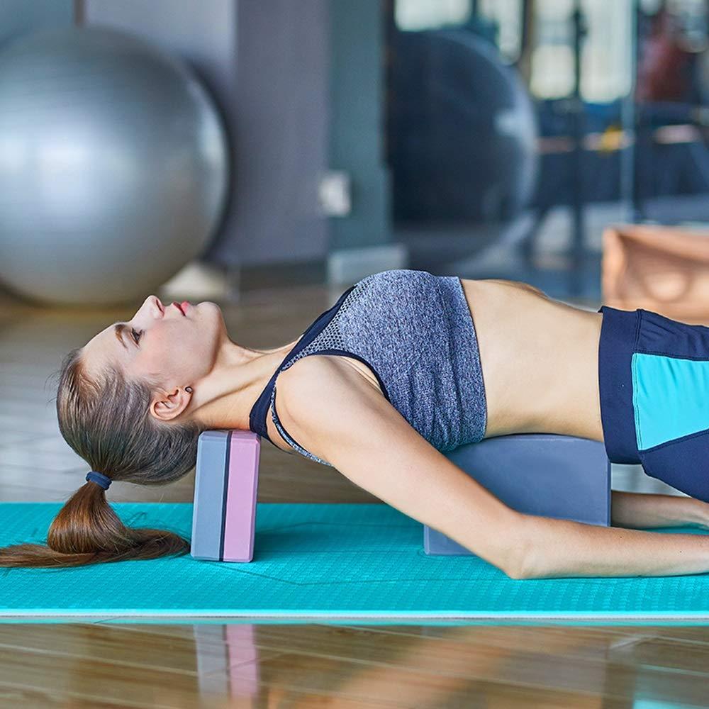 TRER Bloque de Yoga Ladrillo de Yoga EVA de Alta Densidad ...