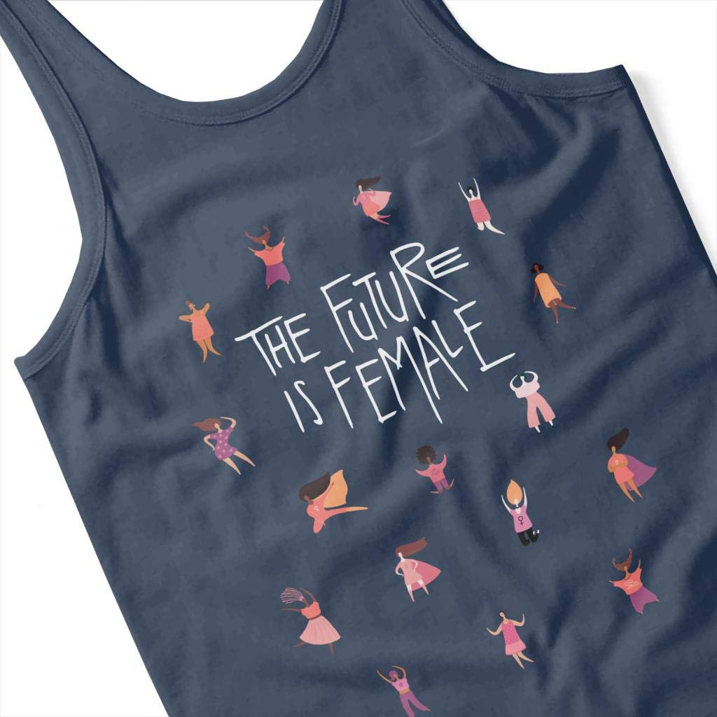 Coto7 Girl Power The Future is Female Womens Vest