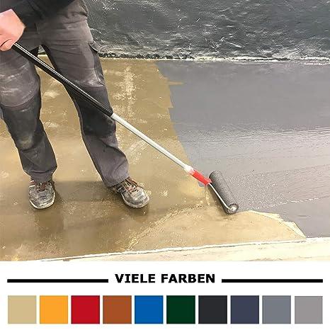 Home Profis® HPBA-500 Epoxidharz Bodenbeschichtung Außen (5m²) – Epoxy  Balkon Terrasse Treppen Carport Stufen Bodenfarbe Fliesenfarbe Gießharz  Beton ...