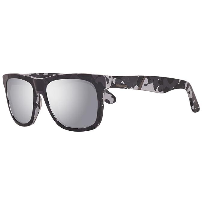 Diesel Sonnenbrille DL0116 5405C Gafas de sol, Gris (Grau ...