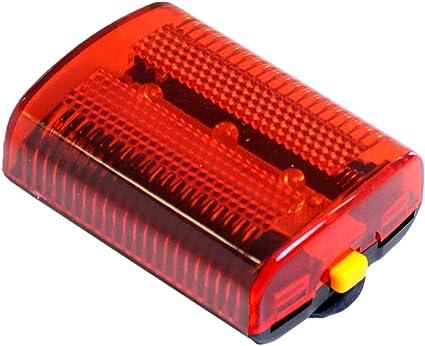 3 Pc Emergency Safety LED Flasher Red Flashing Light For Bikes Running Walking