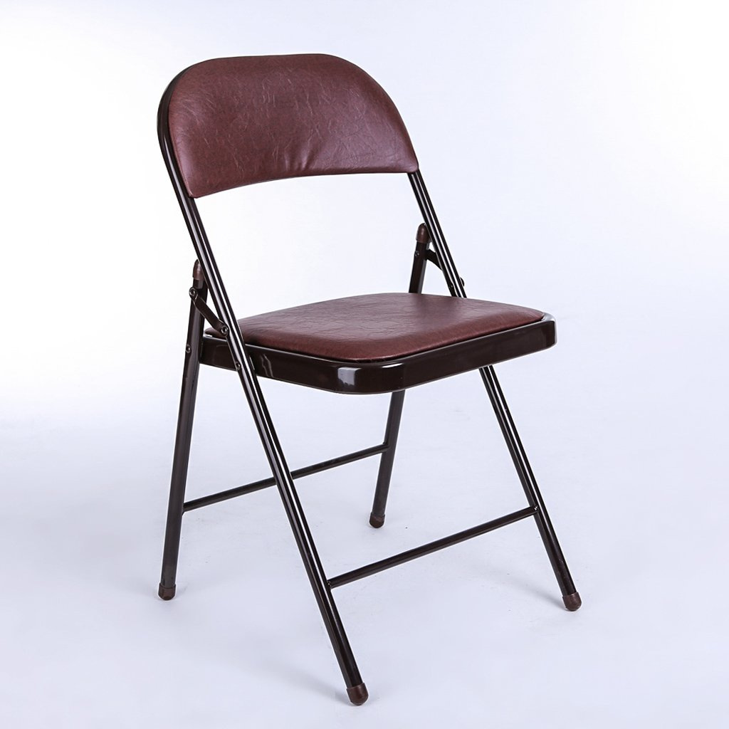 折りたたむ椅子 オフィスチェアシンプルな折り畳み式オフィスチェアpvc折りたたみチェアトレーニングチェア折りたたみチェア(サイズ:46 * 45 * 79センチメートル) 折りたたみチェア (色 : B) B07BS73JN8 B B