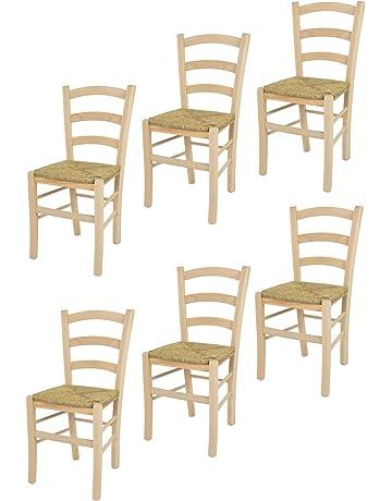 Tommychairs sillas de Design - Set 2 sillas clásicas Venice para Cocina, Comedor, Bar
