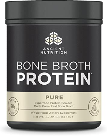 Ancient Nutrition Bone Broth Protein Pure, 20 Servings