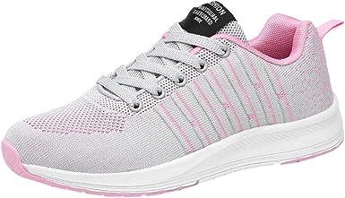 Zapatillas para Mujer Moda Mujer Malla al Aire Libre Zapatos ...