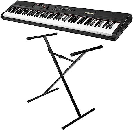 Artesia - Piano de pie Performer y soporte para teclado