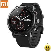 Xiaomi Huami Amazfit Sports Smartwatches Stratos 2 Avec GPS PPG Moniteur de Fréquence Cardiaque 5ATM Étanche Bluetooth jouer de la musique Version Anglaise Noir