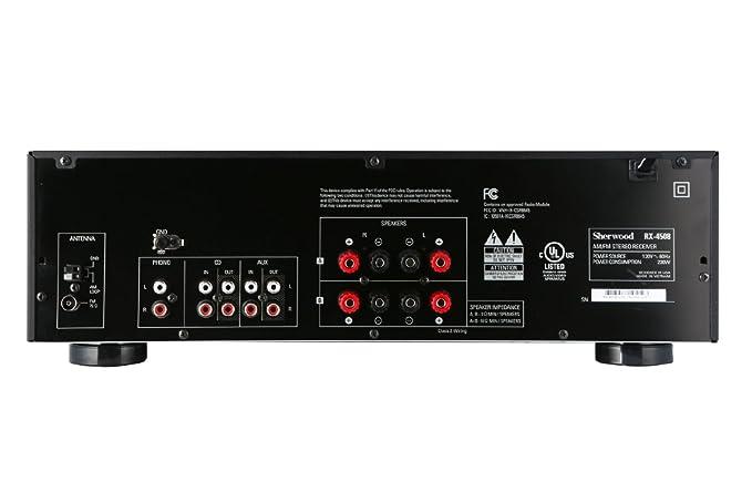 Sherwood RX4508 - Receptor estéreo Am/FM con Bluetooth, 200 W ...