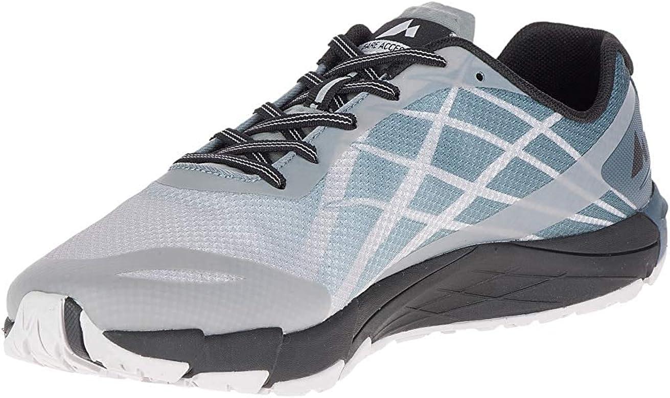 Merrell Bare Access Flex, Zapatillas Deportivas para Interior para Hombre, Gris (Vapor), 41 EU: Amazon.es: Zapatos y complementos