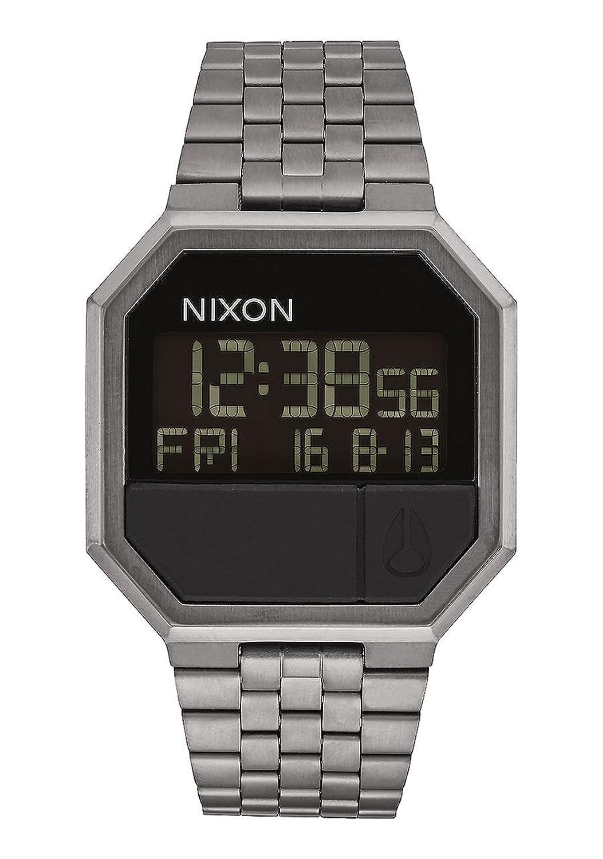 NIXON ニクソン A158632 THE RE-RUN リラン デジタル ガンメタル GUNMETAL ユニセックス レディース メンズ 腕時計 A158-632 [並行輸入品] B076DSM4TG