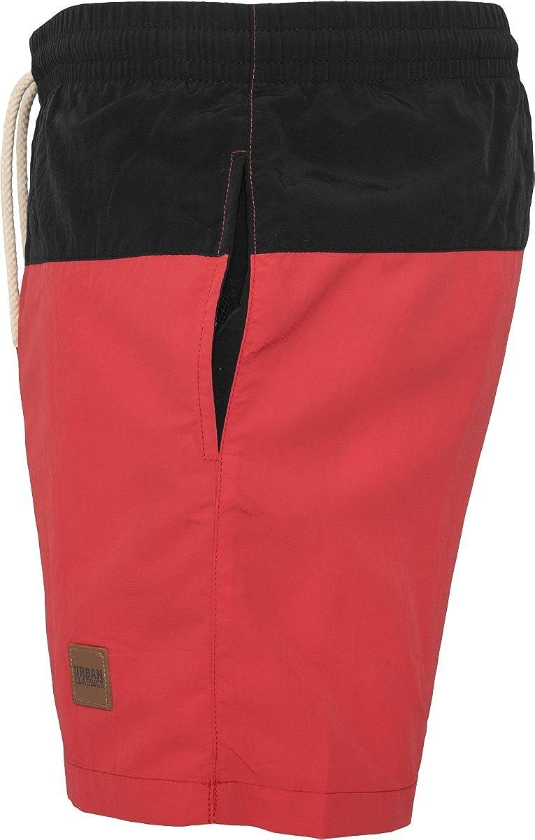 Urban Classics Block Swim Shorts Costume da Bagno Uomo
