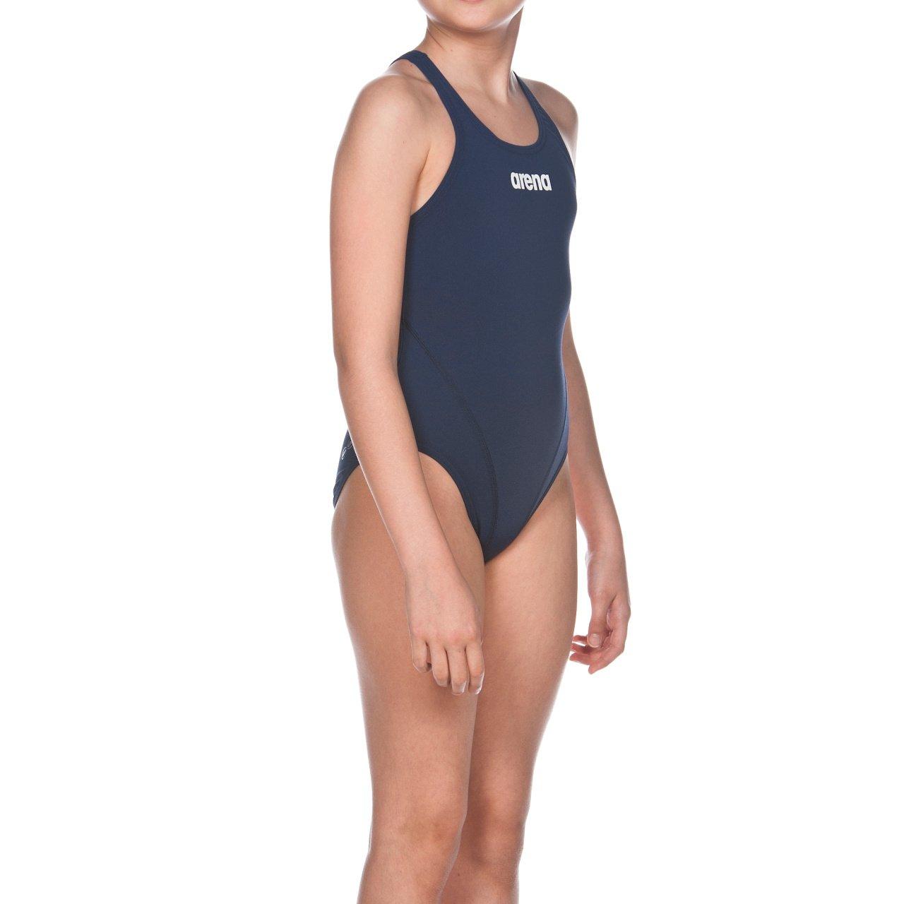 c52515e8b249 Arena Solid Swim Tech Jr Costume da Bagno, Bambina [1540906248 ...