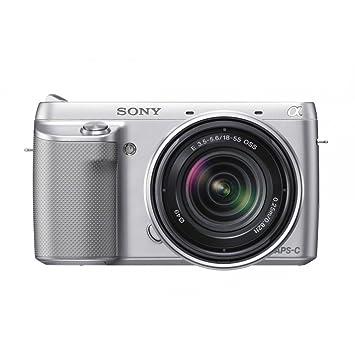 """Sony NEXF3KS - Cámara compacta de 16.1 Mp (pantalla de 3"""", estabilizador de"""