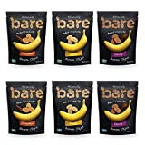 Bare Natural Banana Chips, Multi Serve Variety Pack, Gluten Free + Baked, 2.7 Oz (6 Count)