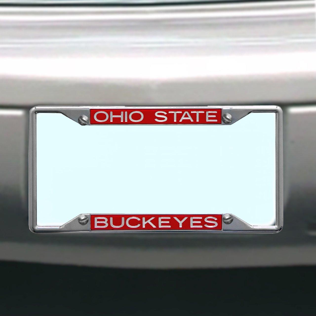 NCAA Ohio State Buckeyes License Plate Frame Stockdale 84991
