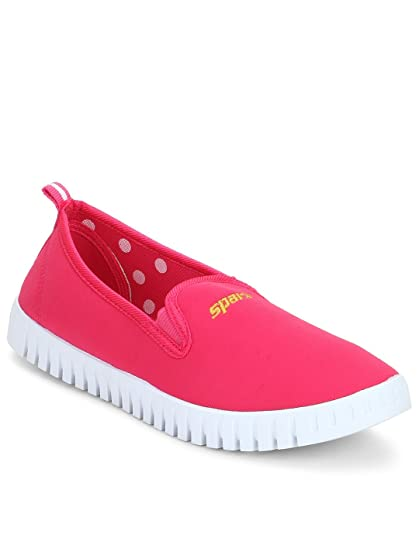 4c19d1511418 Sparx Women's Pink White Sneaker -5 Uk: Buy Online at Low Prices in ...