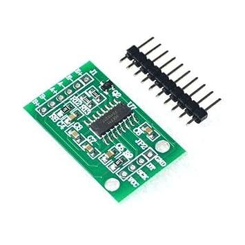 haljia HX711 Sensor de presión de pesaje célula de carga de módulo de doble canal de