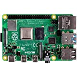 Raspberry SC15184 Pi 4 Model B 2019 Quad Core 64 Bit WiFi Bluetooth (2GB)