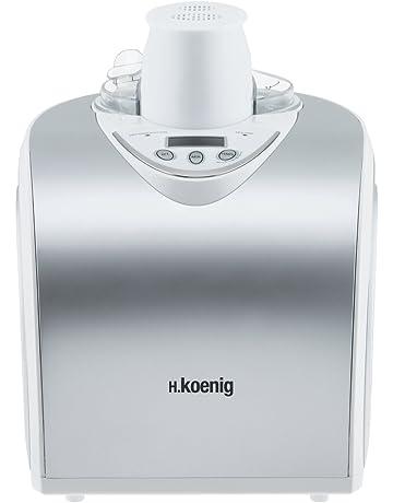 H.Koenig HF180 - Máquina para hacer helados, 135 W, 1 l