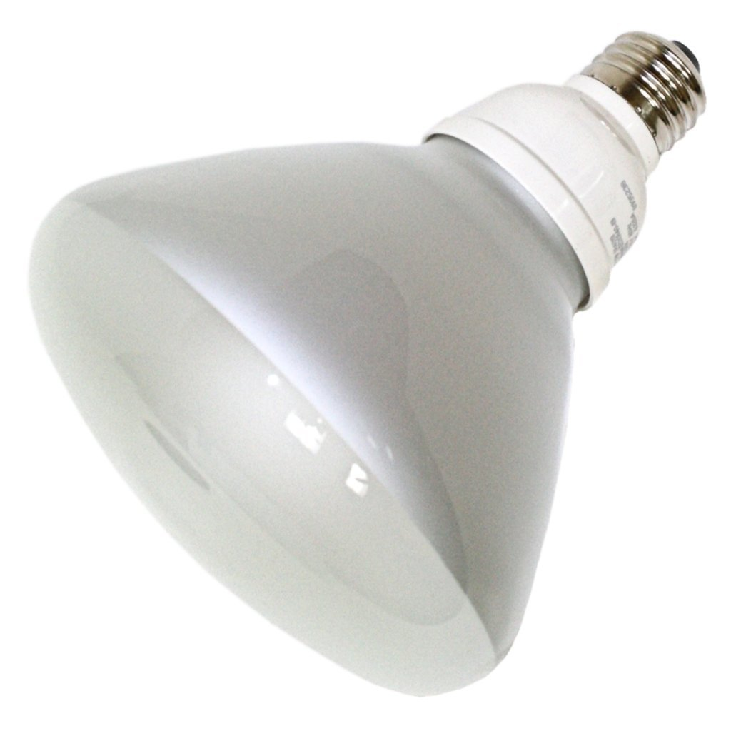 (Case of 6) TCP 1R401941K CFL R40 - 85 Watt Equivalent (19W) Cool White (4100K) Flood Light Bulb
