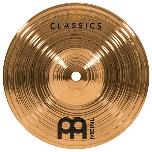 Meinl Cymbals C8S Classics 8-Inch Traditional Splash Cymbal (VIDEO)