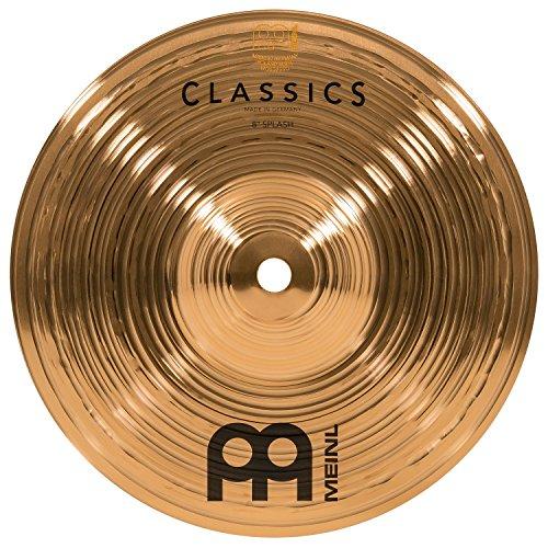 Meinl Cymbals C8S Classics 8-Inch Traditional Splash Cymbal (VIDEO)