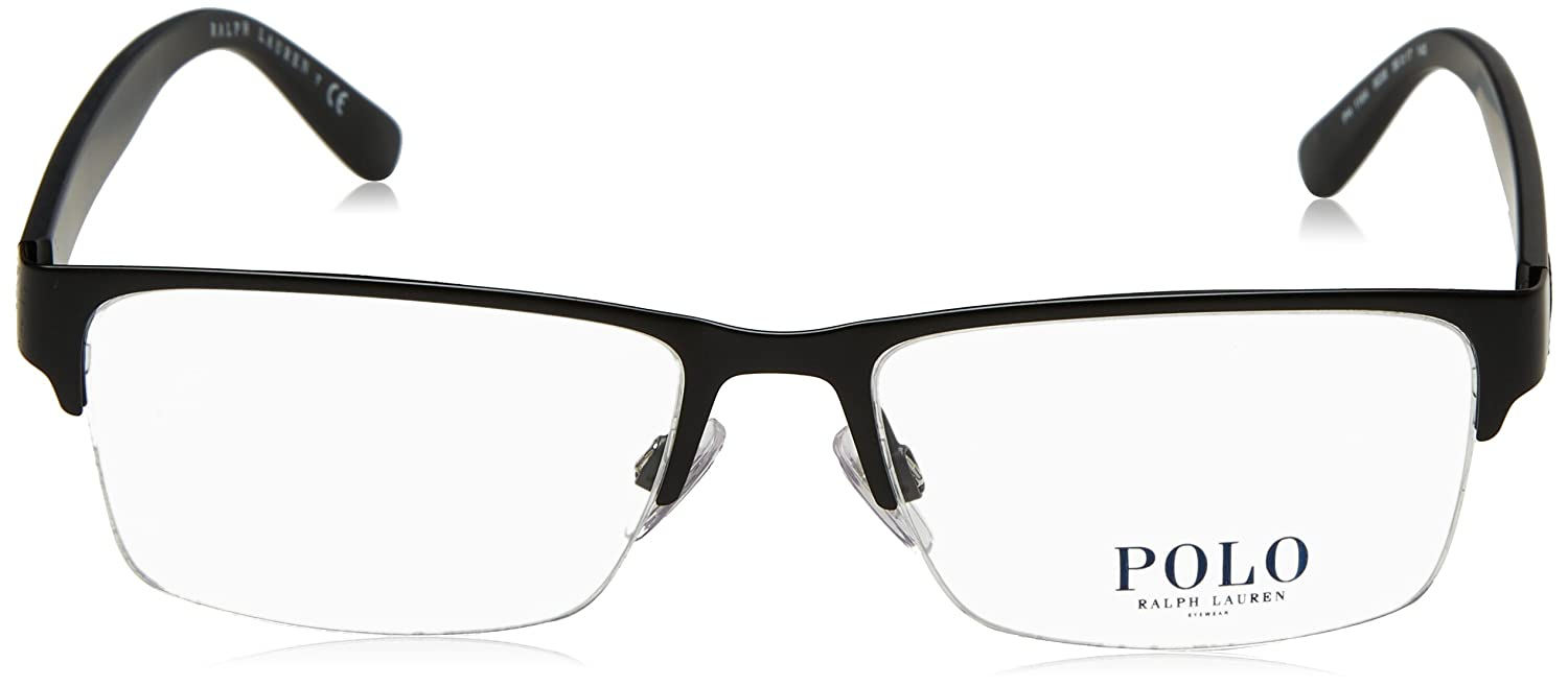 Polo Mens PH1164 Eyeglasses Matte Black 56mm